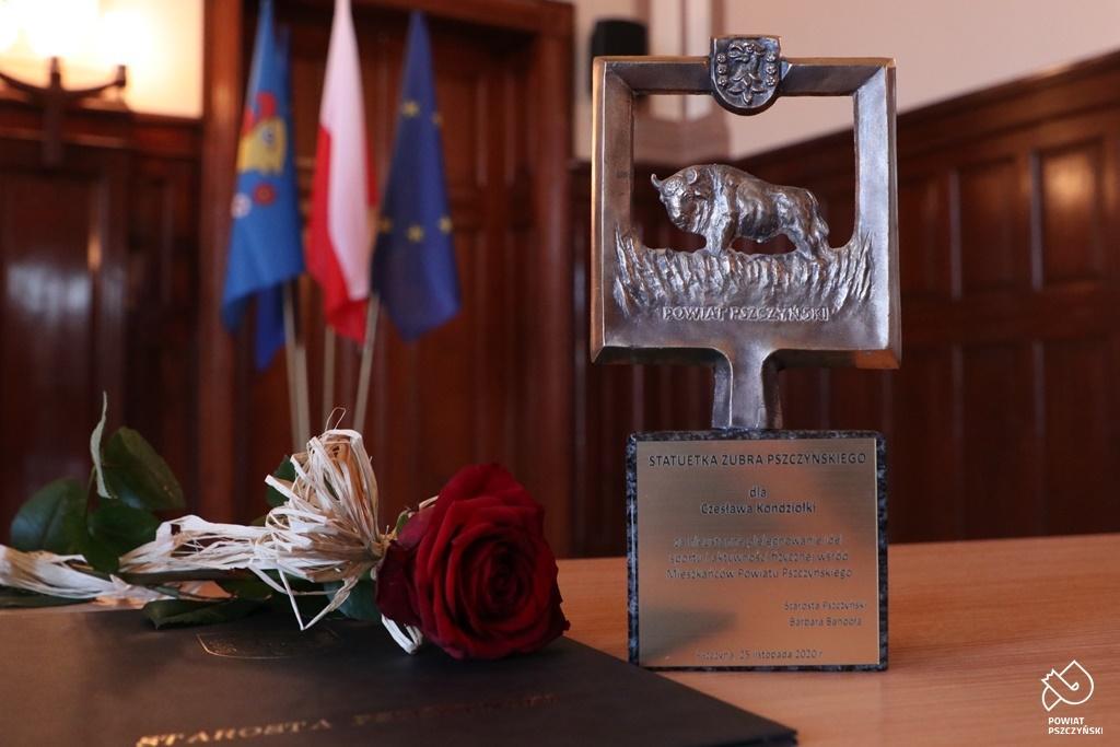 Read more about the article Znaczące wyróżnienie dla prezesa OR WOPR Jastrzębie-Zdrój Czesława Kondziołki